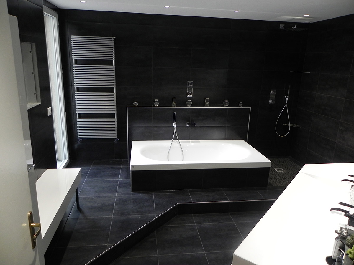 conception et realisation salle de bains lyon 6 dva bath concept. Black Bedroom Furniture Sets. Home Design Ideas